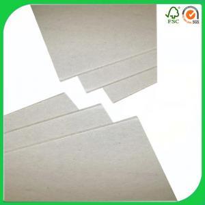 China OEM grey board,duplex die-cutting grey card board paper on sale