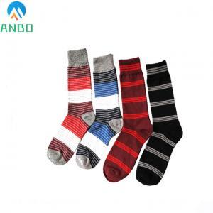 China custom knee high cotton dress socks for men wholesale