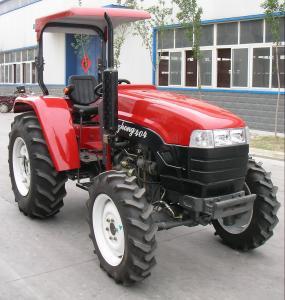 China LUZHONG tractor new model LZ604,LZ654,12F+12Rshift,8.3-24/14.9-28 big tire,flat floor on sale