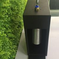 China Black Metal Large Area Scent Diffuser With Timer / Wall Mountable Hvac Scent Diffuser 1000ml wholesale