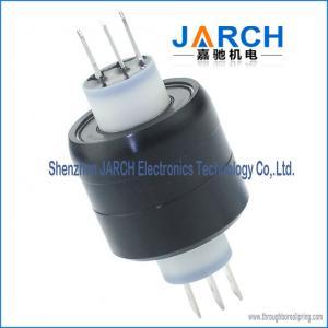 China 3 Pole 30A HF signal miniature Mercury Slip Ring A3H ethernet slip ring wholesale