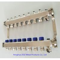 China Floor Heating Water Manifolds are available for 2 - 12 loop underfloor heating circuits on sale