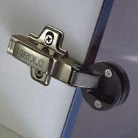 China Two-way Inseparable Glass Soft-closing Hinge for Drawers and Doors wholesale