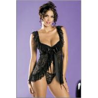 China flirtatious lace babydoll sexy lingerie wholesale