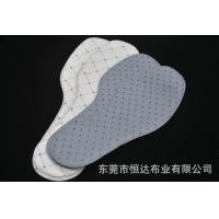 China Disposable Non Woven Shoe Pad / Insole / Sock Lining Size Color Customized wholesale