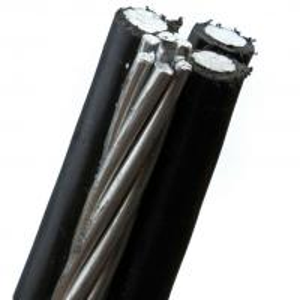 China PE / XLPE Insulation Muti Core Aluminum Conductor Drop Wire 0.6KV / 1KV wholesale