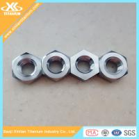 China Best selling Ti6al4v DIN934 Hexagon Titanium Nuts wholesale