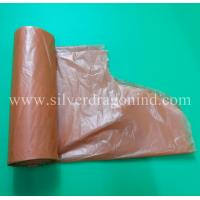China Super Value Custom HDPE/LDPE Plastic Trash /Garbage /Rubbish Bag On Roll, with Handle-Tie,High Quality,Low Price wholesale