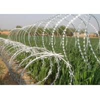 China Sharp Razor Wire Barbed Tape BTO - 18 / BTO - 22 for Security Fence wholesale