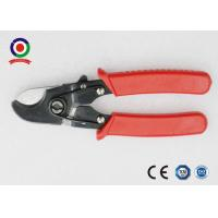 China Heavy Duty Electrical Wire Cable Cutter Chrome Vanadium Safety Red Color wholesale