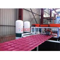China Plastic PVC Roof Tile Making Machine For Glazed Tile Output 350kgh + 50kgh wholesale