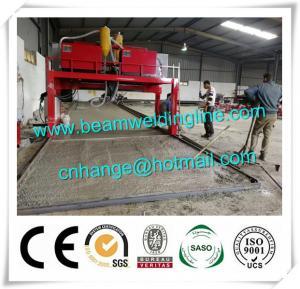 China Trailer Beam Horizontal Welding Machine H Beam Production Line For Steel Construction wholesale