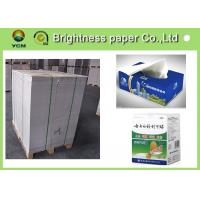 China C2S white back duplex board 250gsm ~ 450gsm for two side printing wholesale