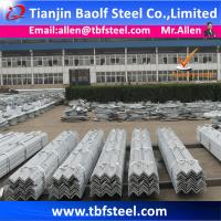 China Hot Dipped Galvanized Structural Steel Angle Sizes on sale