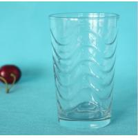 China Ripple Transparent Drink Water Cups wholesale