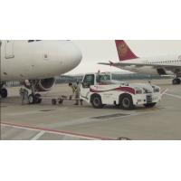 China Reliable Airport Tow Tractor Four Wheel Steering , Ground Service Equipment wholesale