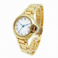 China Metal Watch with Alloy Case/Strap, IPG, Japan Movement, OEM Designs Welcomed wholesale