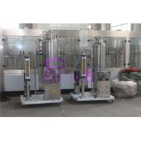 China CO2 / Syrup Soft Drink Processing Line For Carbonated Drink Filling System wholesale