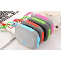 China Outdoor Mini Portable Handsfree Bluetooth Power Bank Speaker With String for Bicycle Bass Subwoofer HiFi TF Card Speaker wholesale