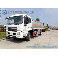 China Light Diesel Chemical Tanker Truck / Small Fuel Tanker Truck Max Speed 85 Km / H wholesale