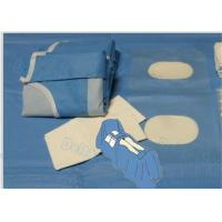 China Disposable Sterile Angiography Drape Packs , Surgical Angio Pack with Soft and Absorption sheet wholesale