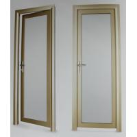Evironment friendly durable aluminum hinged doors with electrophoresis surface treament Manufactures