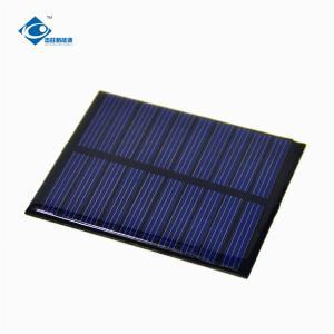 China 5.5V Epoxy Resin Solar Panel for home solar lighting system ZW-6855 custom shaped solar panel on sale