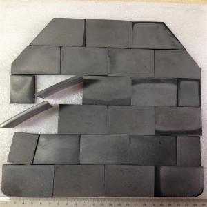 China Ballistic Tiles NIJ III high level bullet proof panel ballistic plate single-curve pure Armored UHMWPE plate on sale