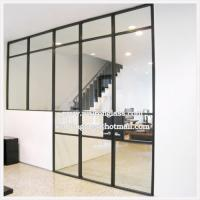 China Clear 6mm 8mm 10mm 12mm Tempered Glass Partition Wall on sale