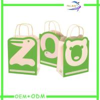 China Eco Friendly Custom Printed Paper Shopping Bags With Handle on sale