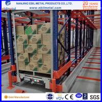 China Top Radio Shuttle Racking warehouse best storage solution Manufactures