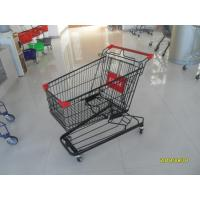 China 941 X 562 X 1001mm Supermarket Shopping Trolley With 4 Swivel Flat Casters wholesale