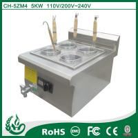China Counter top noodle cooker with 4 baskets wholesale