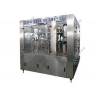 China Small Plastic Bottle Carbonated Drink Filling Machine 32 Rising Heads 6kw wholesale