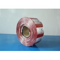 China Gallon Bucket Seal PVC Shrink Labels Can Sleeve Film 40 Micron 10 Colors wholesale