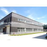 China Q345B Structural Steel Construction , Steel Frame Building Environmentally - Friendly on sale