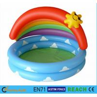 China Cartoon Design Children ' S Inflatable Pool,Baby Swimming Pool Tub Summer Toys wholesale