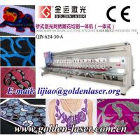 China Embroidery Laser Cutting Machine for Saree,Cloth,Textile wholesale