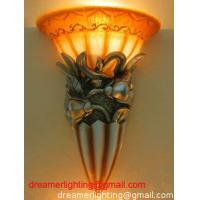 China High Quality Classic Resin Wall Light wholesale