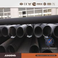 China top sale in NZ market PE DOUBLE WALL CULVERT WATER PIPES large diameter plastic drain pipe wholesale