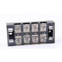 China Pc Clear Cover Panel Mount Barrier Terminal Block For Home Appliances on sale