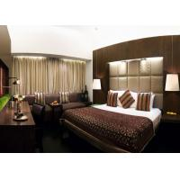 China King Size Commercial Hotel Furniture , Hotel Room Furnishings wholesale