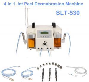 China 4 In 1 Water Oxygen Jet Peel Machine With Hydro Peel / Hydro Diamond Dermabrasion wholesale