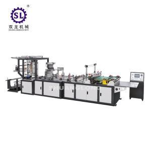 China Computer Control Zipper Lock Bag Making Machine 20-120pcs/min Speed wholesale