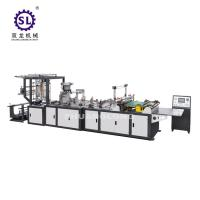 China Full automatic zip lock bag making machine double lines sealing knife and bottom sealing knife wholesale