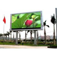 China High Resolution P10 LED Large Screen Display , Video Wall LED Display High Brightness wholesale