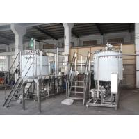 China Full Automatic Carbonated Soft Drink Plant / Carbonated Drinks Making Machine wholesale