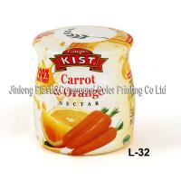China PVC Shrink Sleeve Label Color Printing For Fruit Juice Bottle on sale