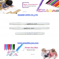 China White Clean Stain Disappear Air Erasable Fabric Marking Pen wholesale