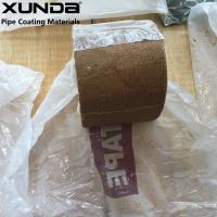 China Flexible fiber woven grease Waterproof Marine Tape , corrosion protection tape for pipes wholesale